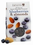 Harvest Sweets Dark Chocolate Covered Blueberries & Almonds 3.5 oz.