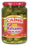 Cains Balsamic Munchers Pickles 24 oz.