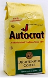 Autocrat Decaffeinated Ground Coffee 11.5 oz.