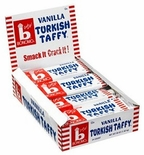 Bonomo Turkish Taffy Vanilla 24/1.5 oz. Box