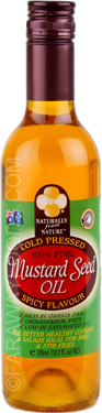 Naturally from Nature Spicy Mustard Oil