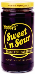Woody's Sweet 'n Sour (Smoky) Barbecue Sauce