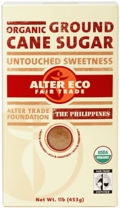 Alter Eco Organic Unrefined Ground Cane Sugar
