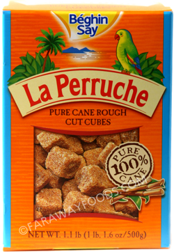 La Perruche Rough Cut Sugar Cubes