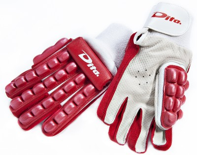 RED LEFT HAND GLOVE