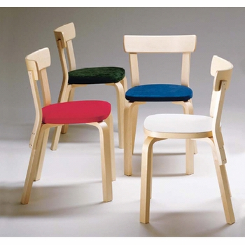 Artek Alvar Aalto Chair 69 - Your Own Materials - Click to enlarge