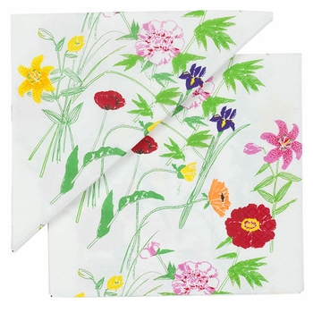 Marimekko Puutarhakutsut Multi-color Lunch Napkins - Click to enlarge