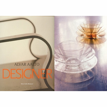 Alvar Aalto Designer, hardcover book - Click to enlarge