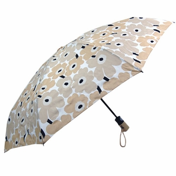 Marimekko Unikko Beige Mini Umbrella - Click to enlarge
