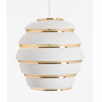 Alvar Aalto A331 - Beehive Ceiling Lamp - Click to enlarge