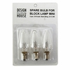 Small Block Lamp Replacement Bulbs