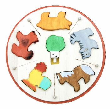 Animal Carousel Puzzle  - Click to enlarge