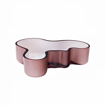 iittala Aalto Mauve/White Dual Colored Tray - Click to enlarge