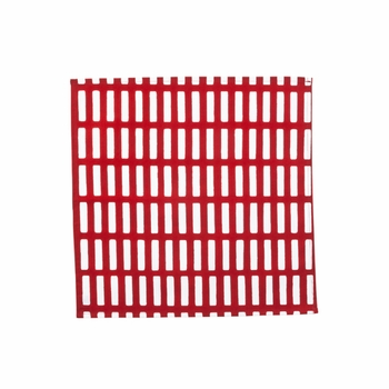 Artek Siena Red/White Cotton Napkin - Click to enlarge