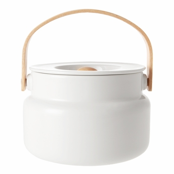 Marimekko Oiva White Serving Pot - Click to enlarge