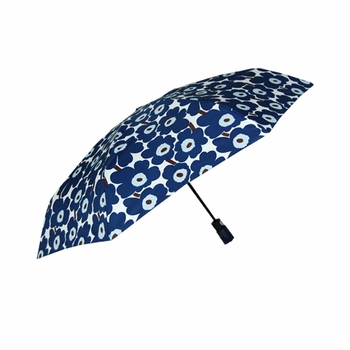 Marimekko Unikko Blue Mini Umbrella - Click to enlarge