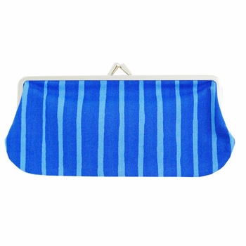 Marimekko Piccolo Blue Eyeglass Case - Click to enlarge