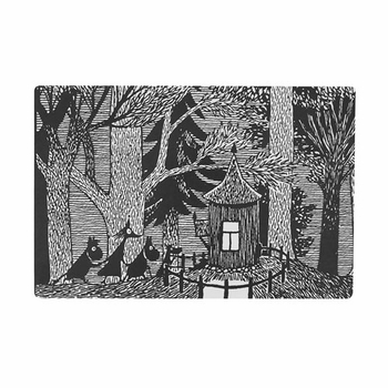 Moomin Cottage in the Woods Cutting Board - Click to enlarge