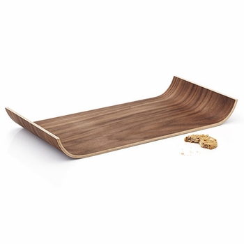 Tonfisk Warm Walnut Serving Tray - Click to enlarge
