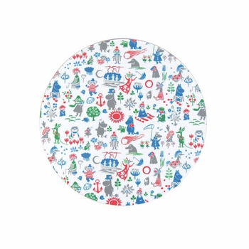 Moomin Pattern Design Trivet - Click to enlarge