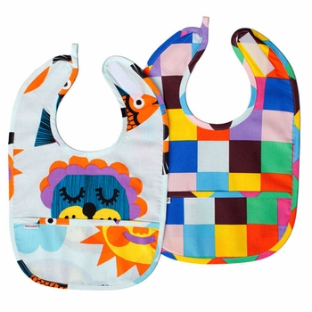 Marimekko Valpuri Bibs - Set of 2 - Click to enlarge