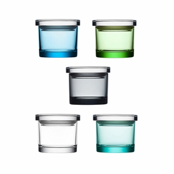 Iittala Mini Wide Glass Jar - Click to enlarge