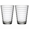 iittala Aino Aalto Clear Large Tumblers - Set of 2