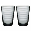 iittala Aino Aalto Grey Large Tumblers - Set of 2