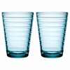 iittala Aino Aalto Light Blue Large Tumblers - Set of 2
