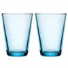 iittala Kartio Light Blue Large Tumbler - Set of 2