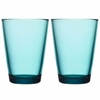 iittala Kartio Sea Blue Large Tumbler - Set of 2