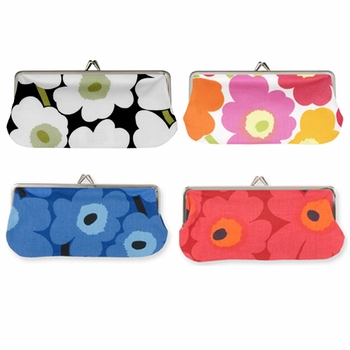 Marimekko Mini-Unikko Eyeglass Case  - Click to enlarge