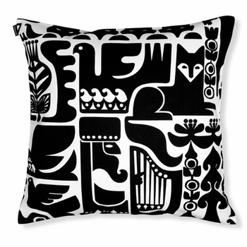 Marimekko Kanteleen Kutsu Throw Pillow - Click to enlarge
