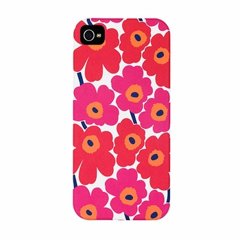 Marimekko Unikko Red/White iPhone 5/5s Case - Click to enlarge