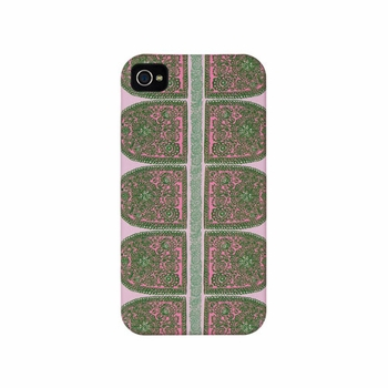 Marimekko Satula Pink/Green iPhone 4 Case - Click to enlarge