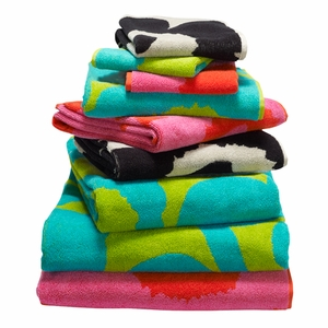 Marimekko Unikko Towels - Click to enlarge
