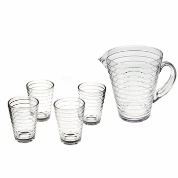iittala Aino Aalto Pitcher and Tumblers Set - Click to enlarge