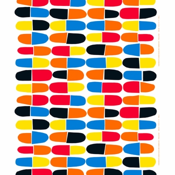 Marimekko Pikku J�tski Fabric - Click to enlarge