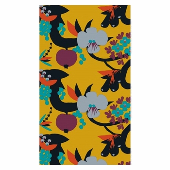Marimekko El�m�npuu Fabric Repeat - Click to enlarge