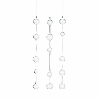 iittala Ateenan Aamu Glass Pendants - Set of 3 - Click to enlarge