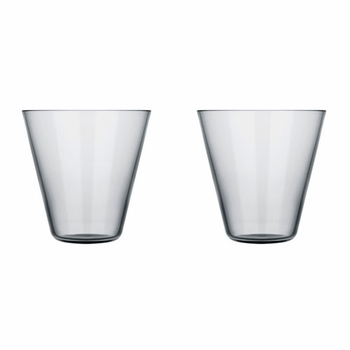 iittala Kartio Grey Thin Small Tumbler Set/2  - Click to enlarge