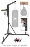 XMark Pro Style Heavy Bag Stand W/Adjustable Speed Bag Platform - XM-2841