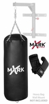 XMark XM-2770 Black High Performance Vinyl Heavy Bag W/Gloves