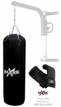 XMark XM-2780 Black Premium Canvas Heavy Bag W/Gloves