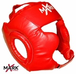 XMark Red Protective Head Guard - XM-2656
