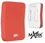 XMark Red/White Curved Chest Guard - XM-2671