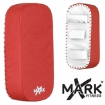 XMark Red/White Straight Kick Mitt - XM-2661