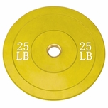 Body Solid 25lb Olympic Rubber Bumper Plates - Pair