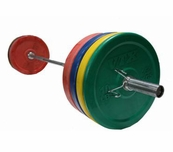 VTX 275lb Color Bumper Plate Weight Set