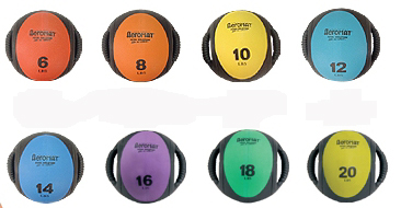 Aeromat Dual Grip Medicine Ball Set